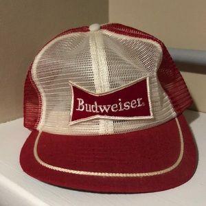 Vintage Budweiser SnapBack Hat Mesh Cap